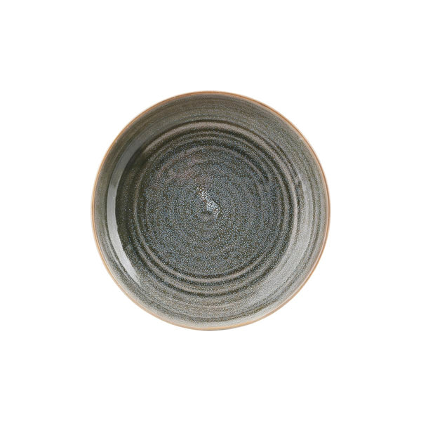 Plate/Bowl - Nord Large - Grey - 26.5cm by House Doctor
