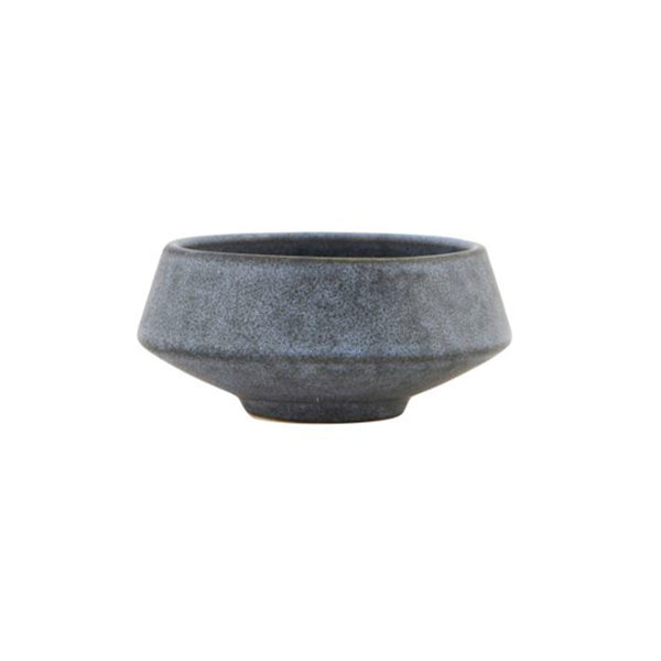 Close up Product image of small blue/grey bowl by house doctor