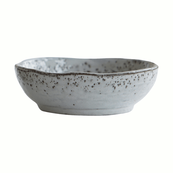 Bowl, rustic, grey, 14cm by House Doctor