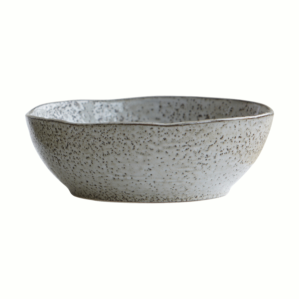 Bowl, rustic, grey, 21.5cm by House Doctor