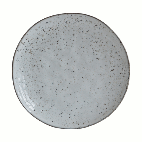 Rustic cake plate in grey by house doctor