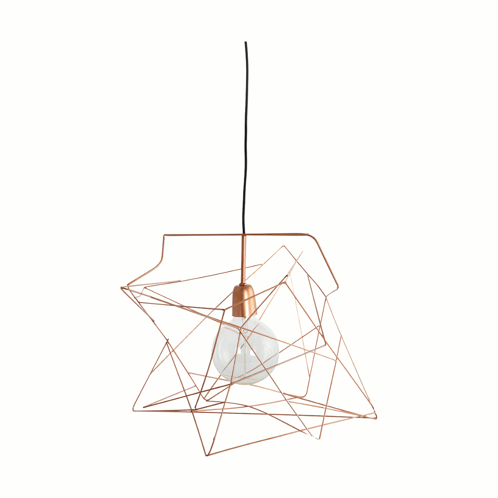 Copper Asymmetric light/lamp shade by House Doctor