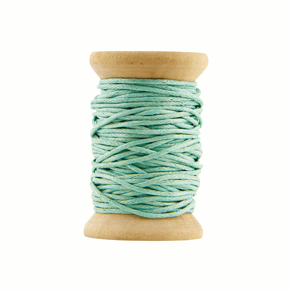 Mint green waxed cord by House Doctor