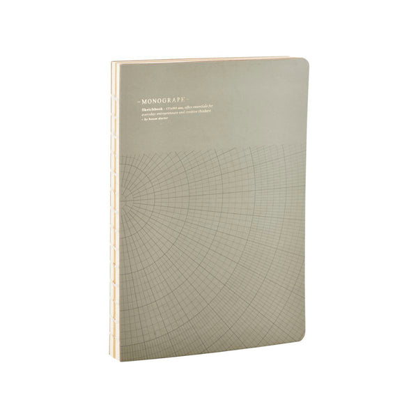 Product image of monograph notebook in dark grey by house doctor