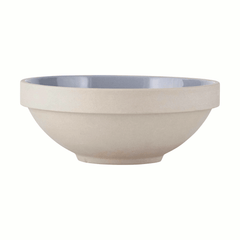 Grey (glazed interior) bowl - 20cm dia by House Doctor