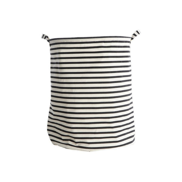 Laundry bag with two handles (Stripes pattern) by House Doctor