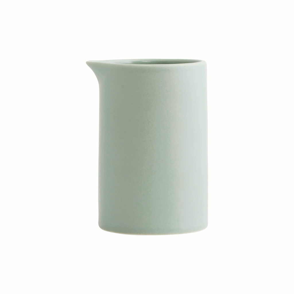 Milk jar/jug - POT - Light Grey/Green by House Doctor