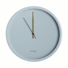 Pale grey clock by House Doctor