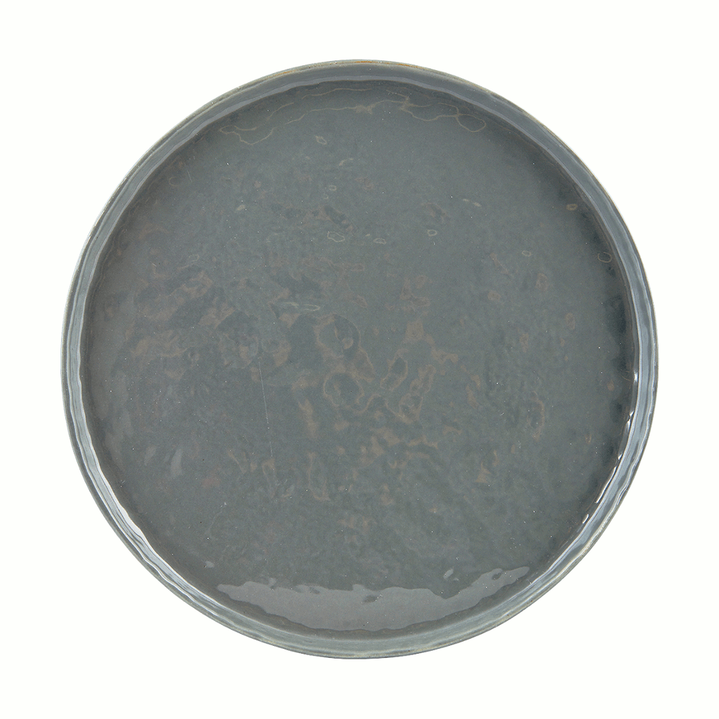 Plate - solid grey - 27.5cm by House Doctor