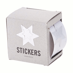 Sticker - Silver star by House Doctor