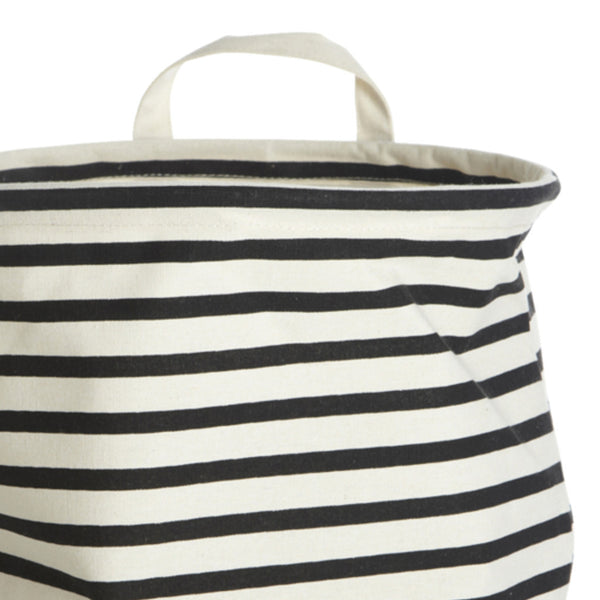 Image of striped storage bag by house doctor