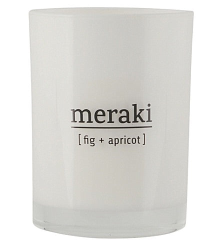 Candle Large - Fig and Apricot by Meraki