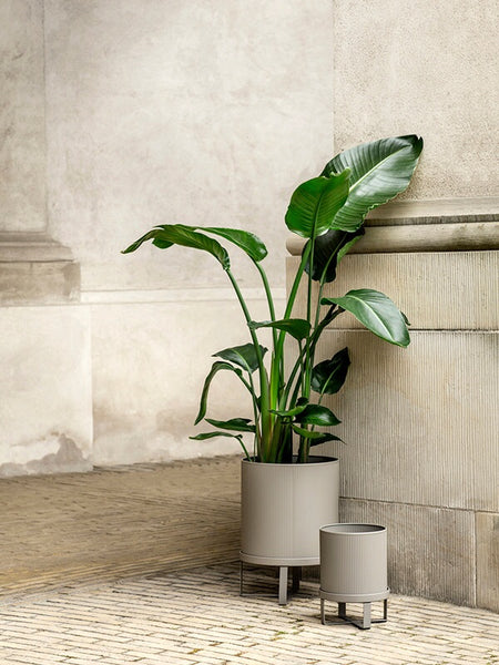 Small Bau Pot in Dark Green by ferm Living
