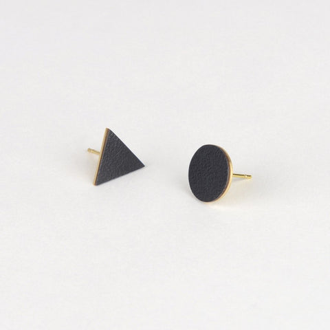 Mix Match Studs - Midnight black  - Tom Pigeon