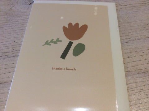 Thanks A Bunch Card by Hattie Maud