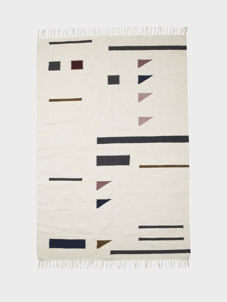 Kelim Rug Triangles - Large - by ferm LIVING