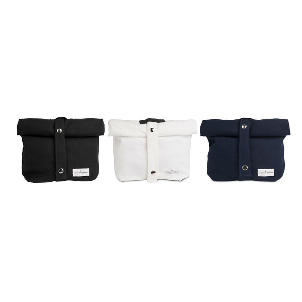 Lunch Bag in Natural White by The Organic Company