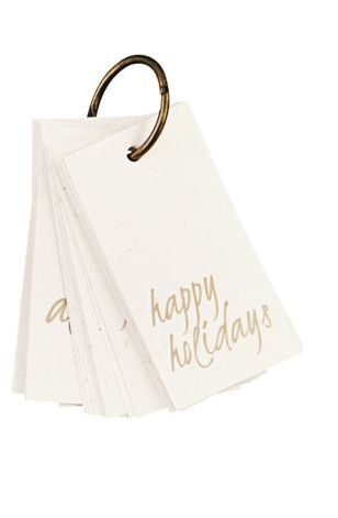 Christmas Gift Tags - 50 pieces - Monograph by House Doctor