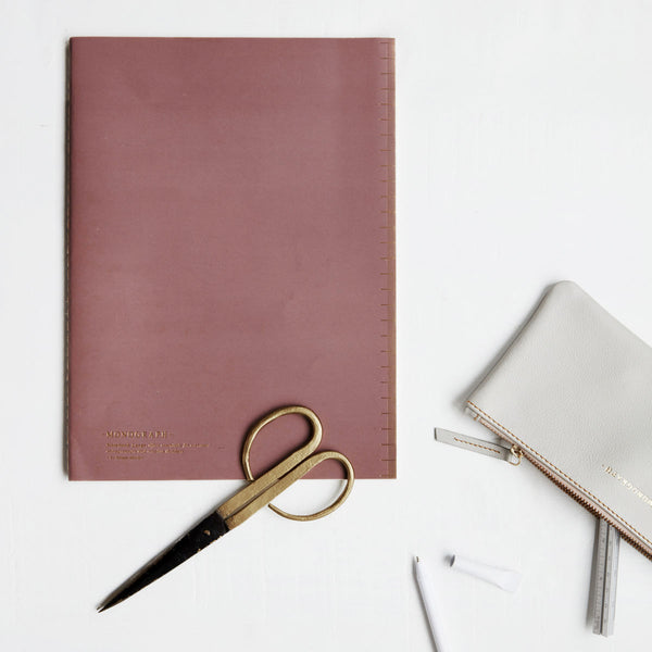 Soft Burgundy A4 Notebook by Monograph at House Doctor