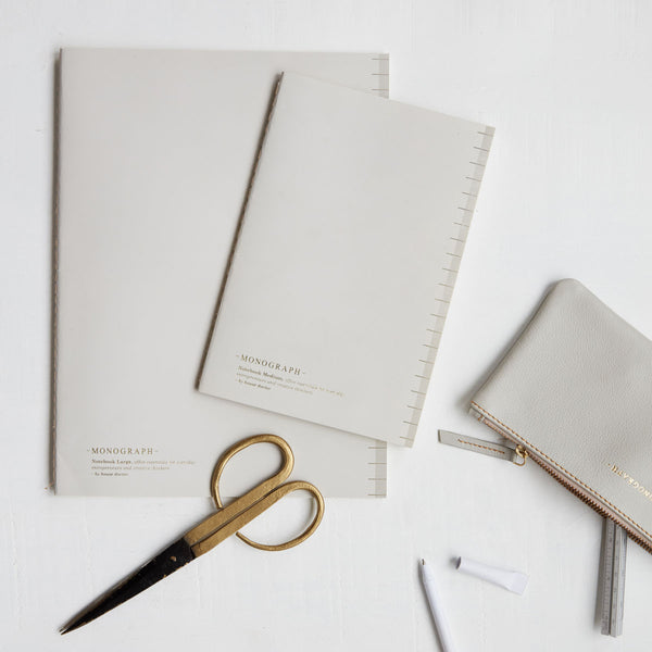 Soft Grey Dot Paper A5 - Monograph Notebook by House Doctor