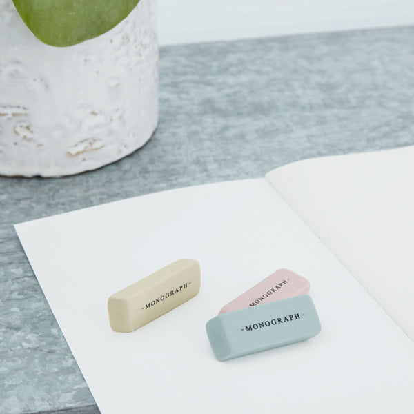 Eraser set of 3 - Monograph by House Doctor