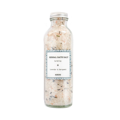 Image of calming bath salts by Mirins Copenhagen