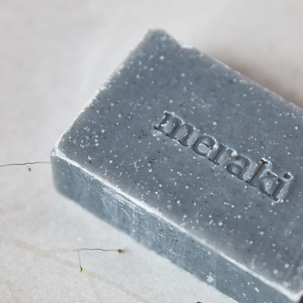 Soap - Bamboo Charcoal  by Meraki