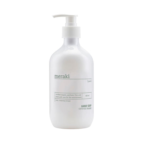 Hand Soap - Pure - Certified Organic Range by Meraki