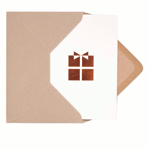 Card with copper foil present by Ola