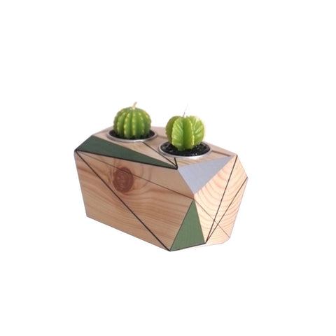 Image of polymorphics double cactus tealight holder