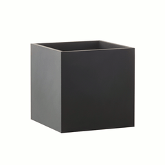 Square planter large - black by SEJ Design