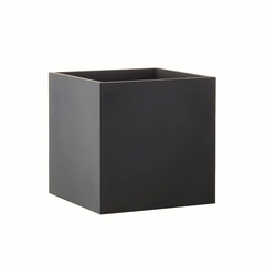 Square planter x-large - black by SEJ Design