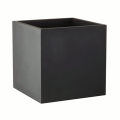 Square planter xx-large - black by SEJ Design