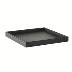Square tray large - black by SEJ Design
