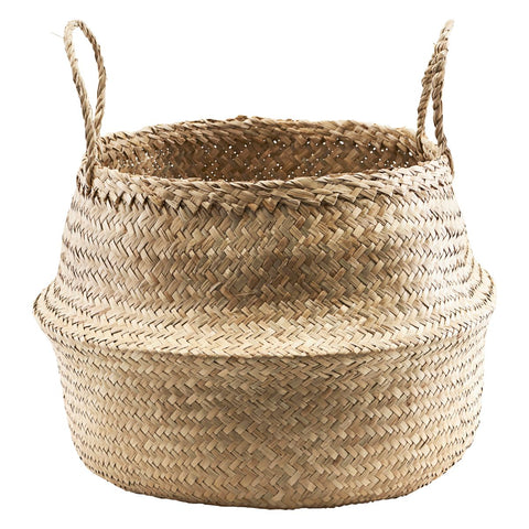 Seagrass Basket - Tanger - large two handles, by House Doctor
