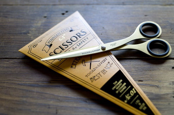 Scissors Gold (6.5 inch) by Tools to Liveby context image