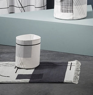 Trace basket in small by ferm Living