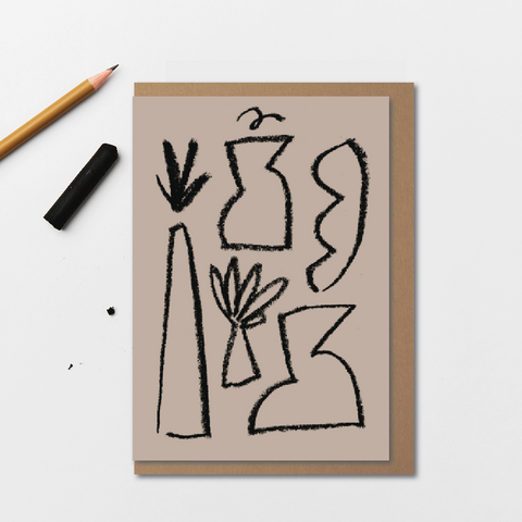 Vases | Card by Kinshipped