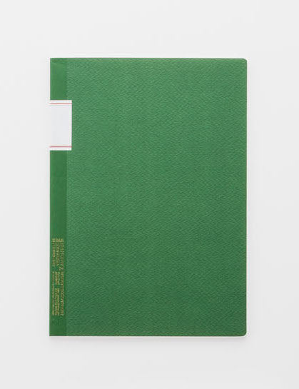 Vintage Notebook - Green - by Stálogy