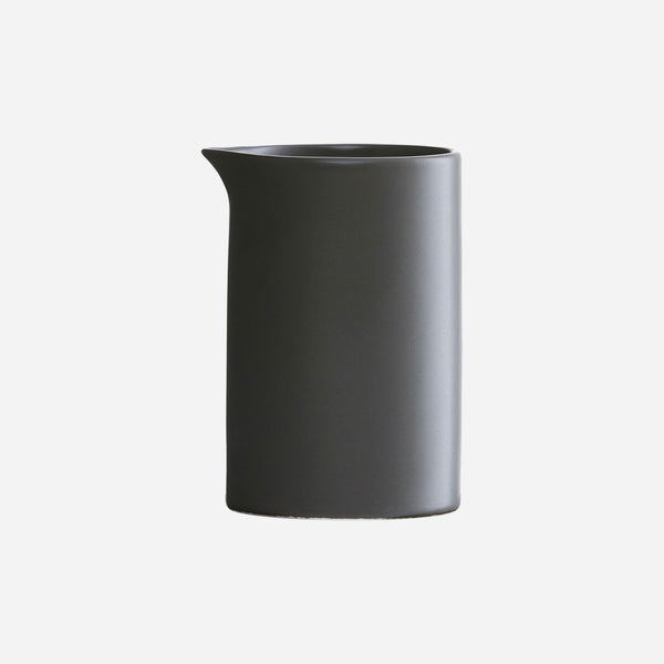 Milk jar/jug - POT - Dark Grey/Black by House Doctor