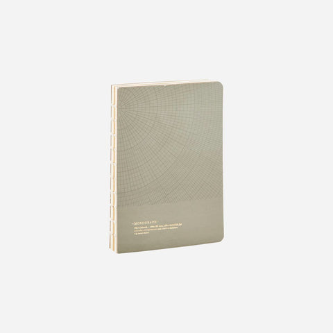 Geometric Dark Grey notebook - Small 128 pgs  by House Doctor