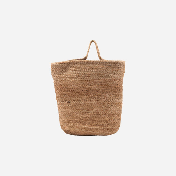 Hanging Storage Basket Mira 100% Hemp  - Medium - by House Doctor