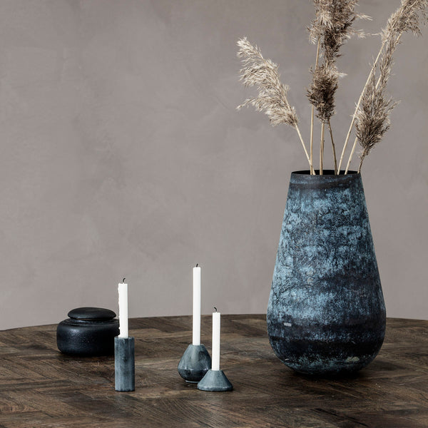 Candle stand, Iconia, Grey by House Doctor