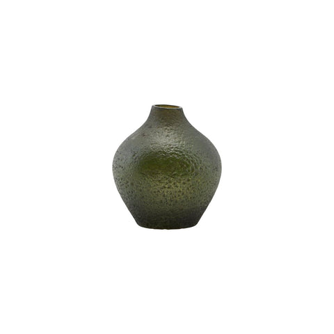 Small green vase, ' Forrest ' by House Doctor