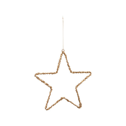 Star Decoration - Large - Nature - by House Doctor