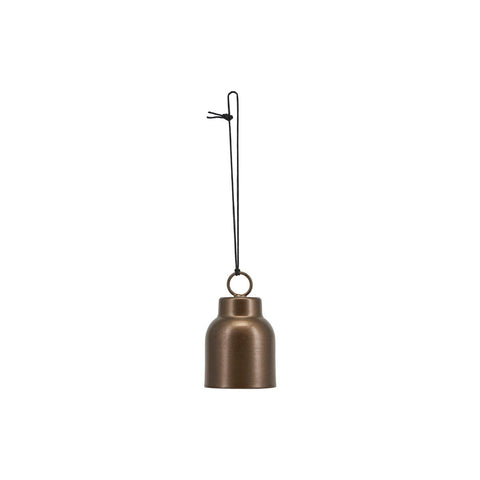 Brass Bell Christmas Bauble - by House Doctor