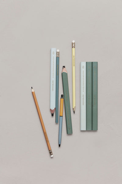 Wide pencil in wood - Carpenter - Monograph by House Doctor