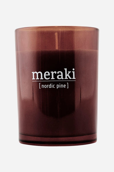 Candle Large - Nordic Pine - by Meraki