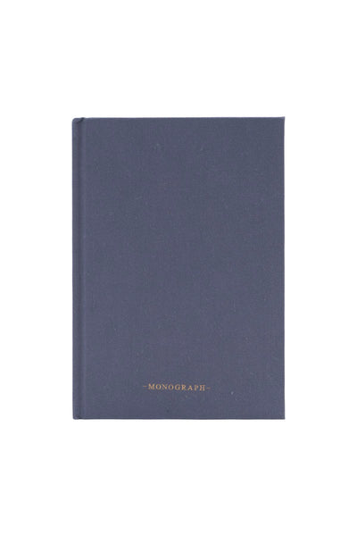 Blue ruled notebook - 80 pages - Monograph by House Doctor