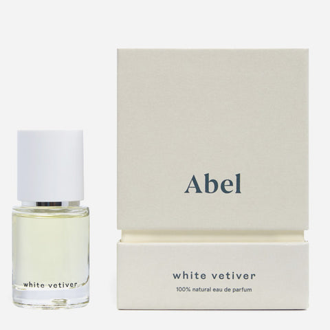 White Vetiver Unisex Natural Perfume 15ml by Abel